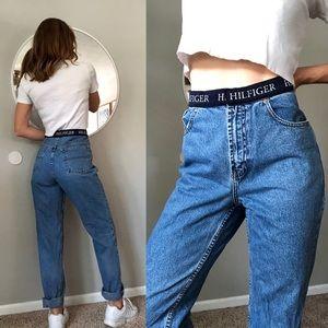 Vintage 90's Tommy Hilfiger high waist mom jean